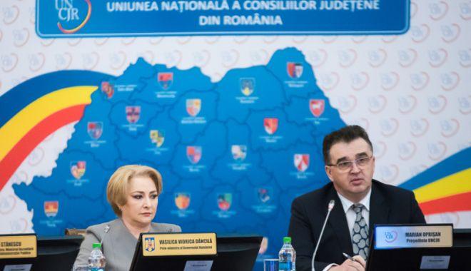 Foto: Premierul Viorica Dăncilă reia tema descentralizării: Proiectul nu trebuie abandonat