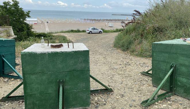 """Revoltă în Faleză Nord. """"Ne-au închis drumul de acces spre plajă, suntem sabotați!"""" - fondrevolta1-1625509279.jpg"""