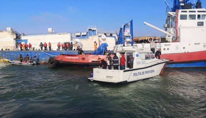 Foto: Scenariul catastrofei navale de la Midia, făcut public de pilotul maritim Florin Rusu