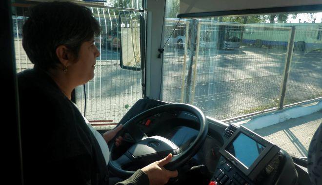 Stăpânele autobuzelor de la RATC.