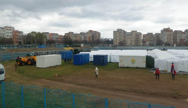 """Foto: Ce pacienți vor ajunge la spitalul militar de pe stadionul """"Portul"""""""