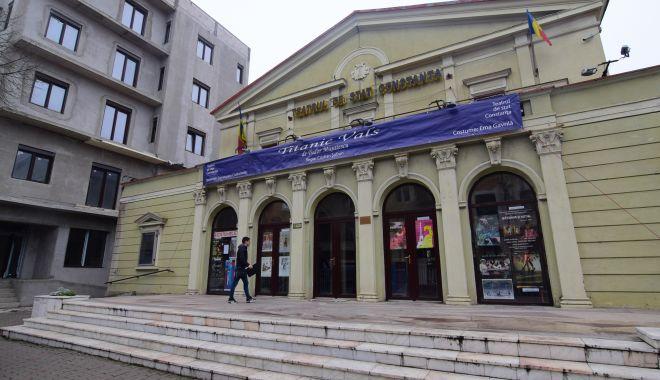 Foto: Reparații capitale la Teatrul de Stat. Ce planuri are Primăria Constanța pentru instituție