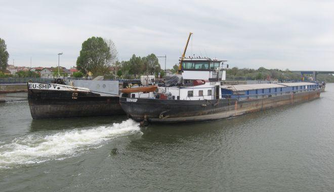 Foto: Cerealele sârbești, ungurești și bulgărești domină traficul de mărfuri pe Canalul Dunăre – Marea Neagră