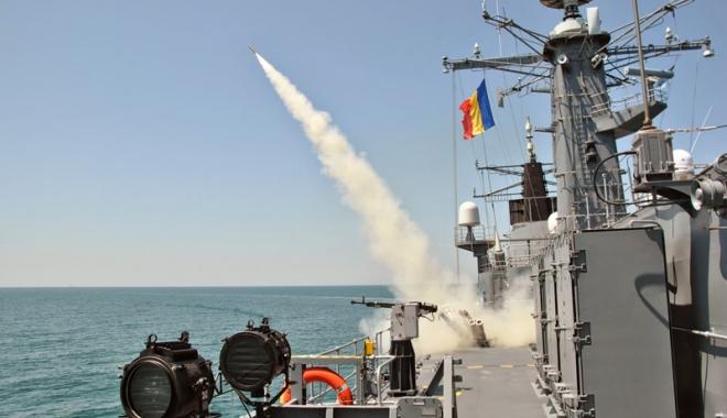 Foto: Forțele Navale Române participă la exercițiul multinațional Sea Breeze 16