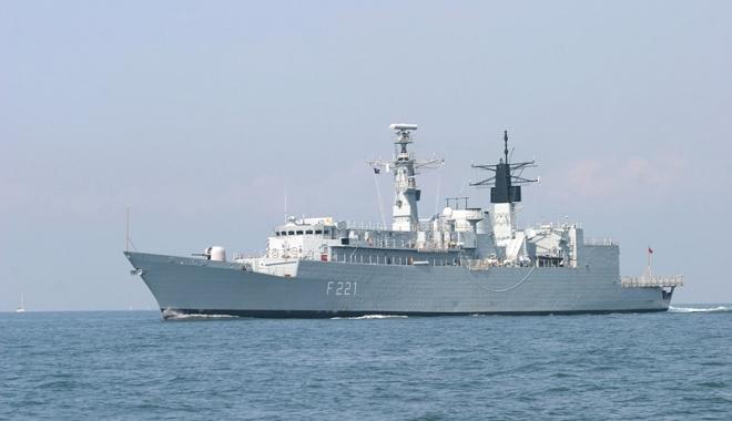 Foto: Forțele Navale Române și Ucrainene  discuții despre securitatea în bazinul Mării Negre