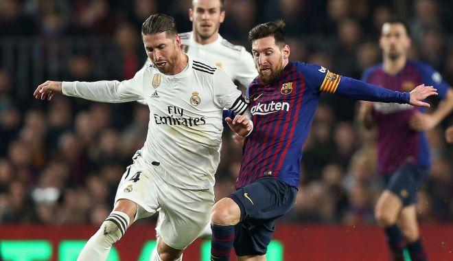 Foto: Barcelona s-a distrat pe Santiago Bernabeu. Real Madrid, în corzi