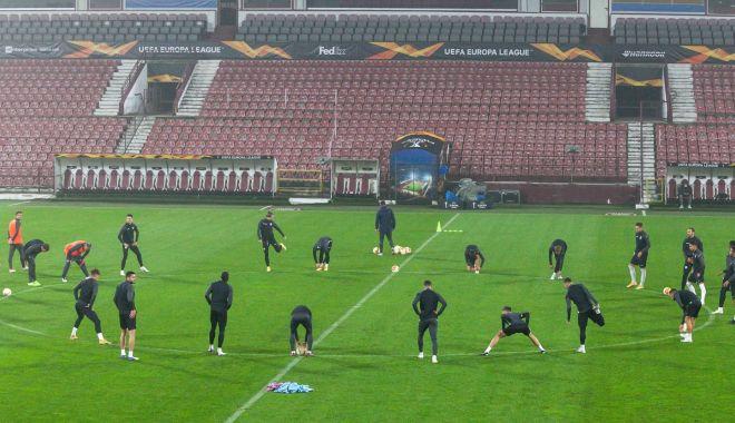 Fotbal, Europa League / CFR, şanse minime în duelul cu AS Roma - fotbalcfr1611-1606410665.jpg
