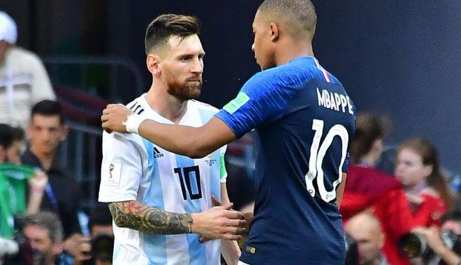 Foto: Lionel Messi și Kylian Mbappe, în luptă direct pentru Gheata de Aur