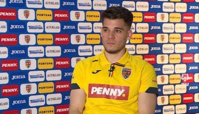 """Fotbal, echipa naţională / Ianis Hagi: """"Ne dorim să ajungem la Mondiale"""" - fotbalianis2503-1616661193.jpg"""