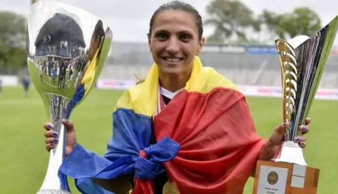 Constănțeanca Florentina Olar Spânu, medaliată cu bronz  în Danemarca - fotbalista-1593106304.jpg