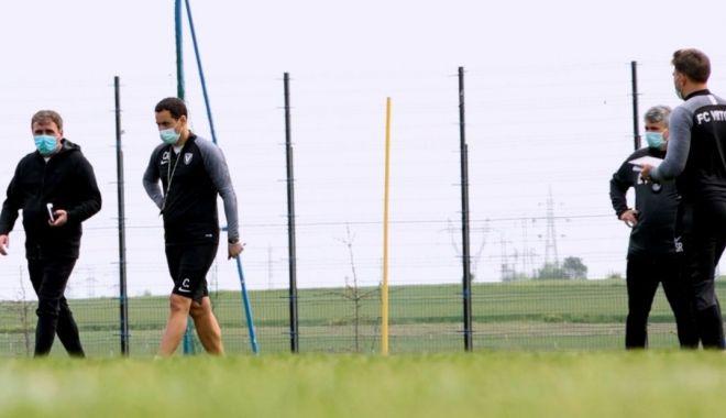 Foto: Fotbaliștii de la FC Viitorul au revenit la antrenamente