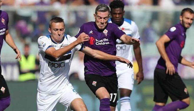 Foto: Egal cu goluri multe, între Fiorentina și Atalanta, în Cupa Italiei