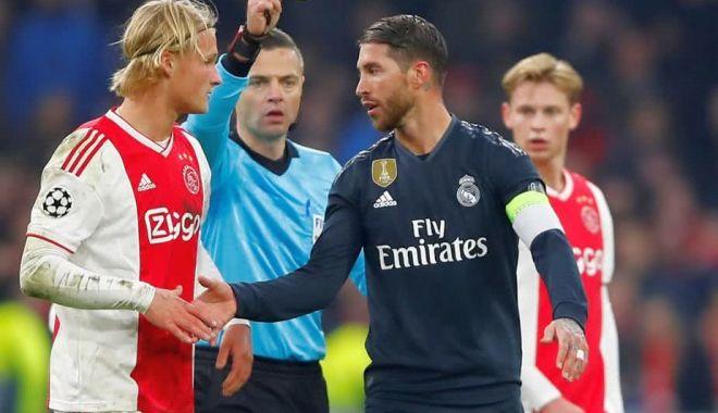 """Foto: Sergio Ramos a fost suspendat de UEFA, după ce a recunoscut că a """"trișat"""""""