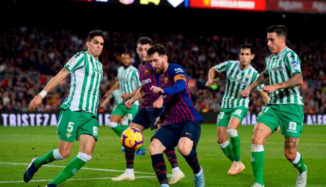 Foto: Lionel Messi a făcut spectacol, în deplasare, la Betis Sevilla
