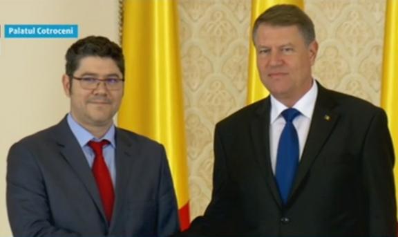 Dragoș Cristian Dinu, învestit în funcția de ministru al Fondurilor Europene - foto3acapturc483digi24598722-1477587635.jpg