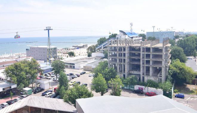 Foto: Afaceri imobiliare în stațiunea Mamaia. Se construiesc noi hoteluri și blocuri