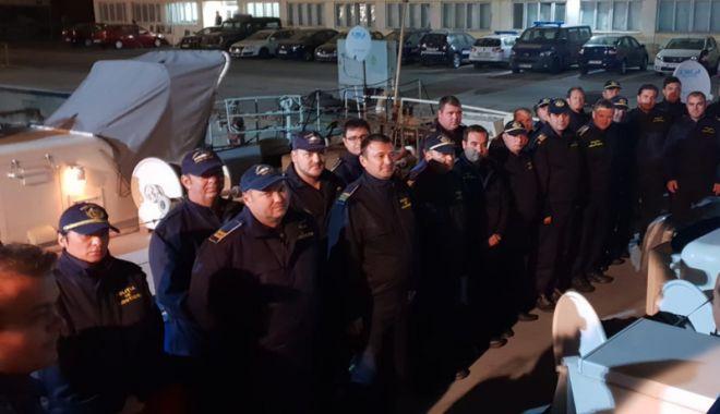 """Foto: Misiune în Marea Egee. Polițiști de frontieră, la operațiunea """"Poseidon 2018"""""""