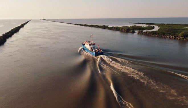 Foto: Planuri pentru plajele românești. Nordul litoralului, stabilizat prin metode moderne de înnisipare