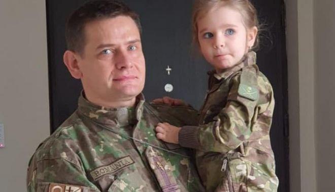 Foto: Portret militar. Lt. col. dr. Cătălin Boca, coordonatorul spitalului de pe stadionul Portul