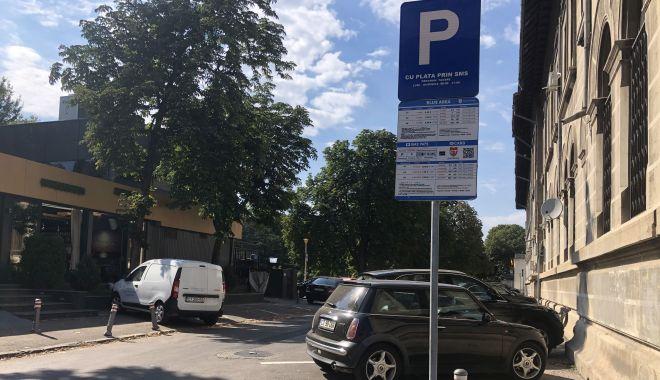 Foto: Nu este de joacă! Ai parcat și n-ai achitat? Primăria te-a amendat!