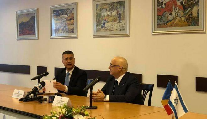 Zi istorică pentru RAJA Constanța. Ambasadorul israelian David Saranga, în vizită la compania de apă - fotofondziistorica1-1581457994.jpg