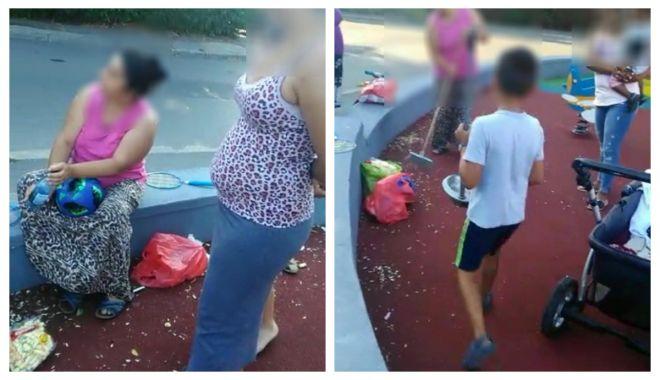 Foto: Locuri de joacă din Constanța, distruse! Anunțați Poliția Locală dacă observați acte de vandalism