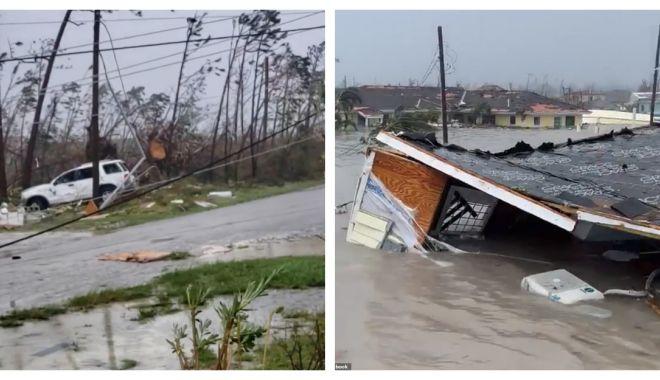 Foto: TEROARE ÎN BAHAMAS! Uraganul Dorian a nimicit totul în calea lui