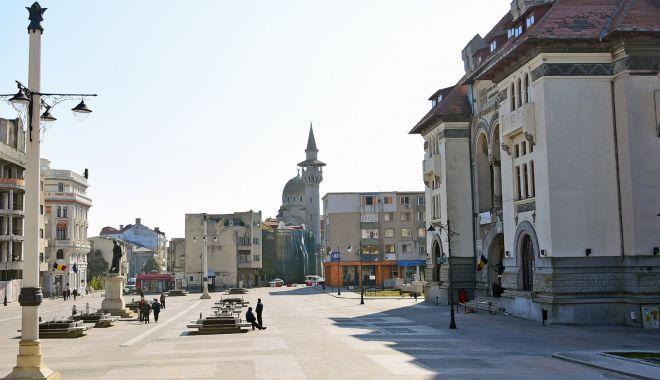 Trafic restricționat la Constanța, în Piața Ovidiu