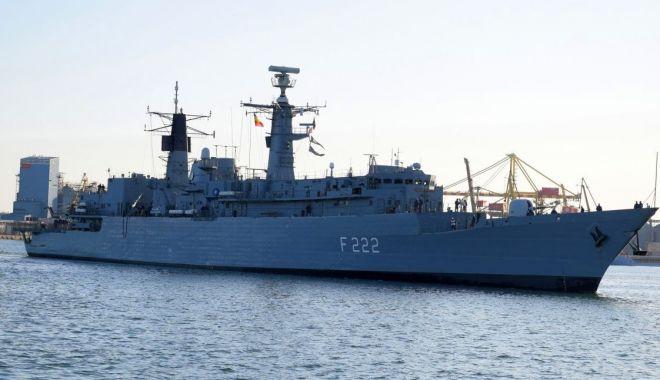 """Foto: Fregata """"Regina Maria"""", misiune îndeplinită"""