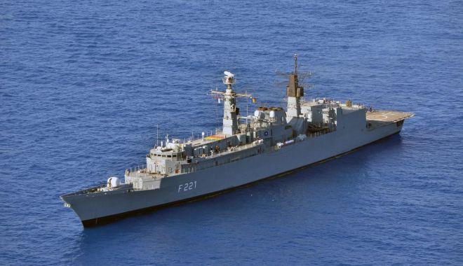 """Foto: Misiune istorică a fregatei """"Regele Ferdinand"""", în Marea Mediterană"""