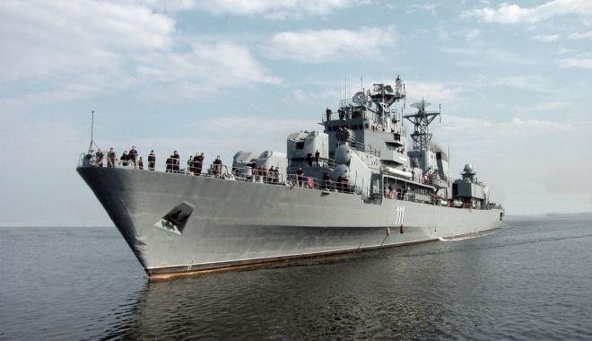 """Foto: Un secol de istorie navală pentru fregata """"Mărășești"""""""