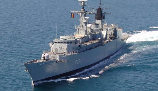 Foto: Fregata Regina Maria,  misiune cu americanii, în Marea Neagră