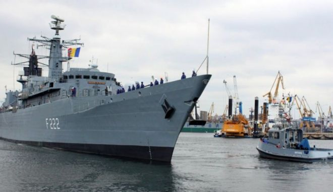 Fregata Regina Maria arborează pavilionul NATO la catarg - fregatareginamaria-1594366126.jpg
