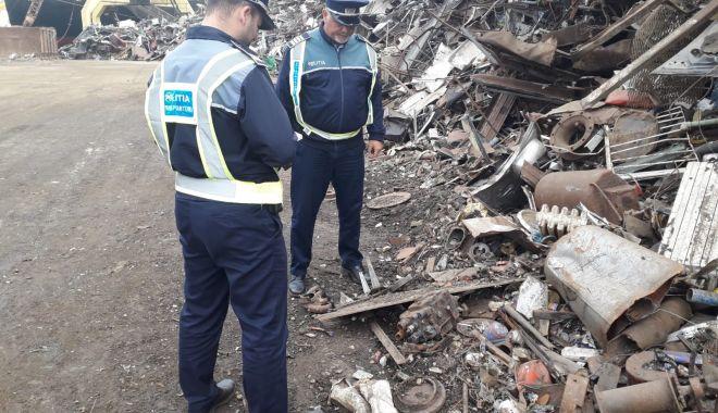 Poliția a descins în control la punctele de fier vechi din Constanța - furtfiervechi1-1573767912.jpg