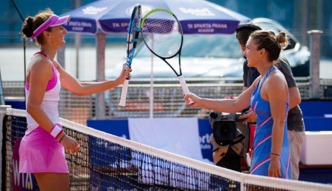 Foto: Info Roland Garros / Simona Halep vs. Irina Begu, în turul secund