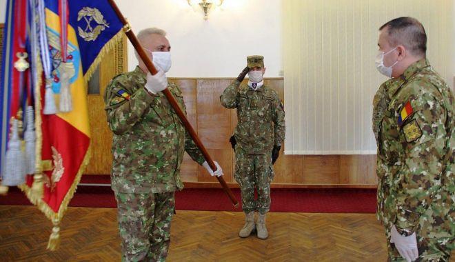 """Foto: Generalul-maior Dorin Blaiu, la conducerea Diviziei 4 Infanterie """"Gemina"""""""