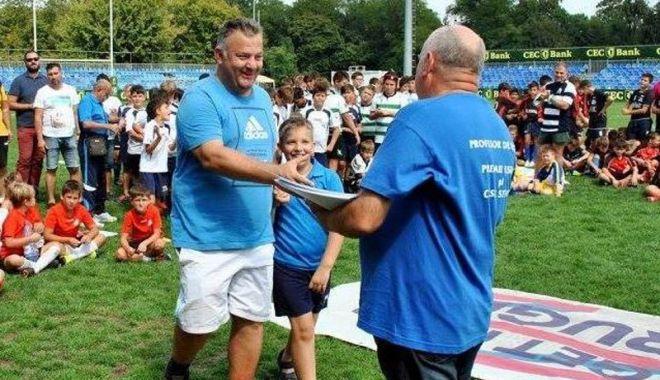Foto: George Bărgăunaș, noul șef  al arbitrilor de rugby din România