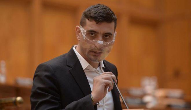 George Simion: Parlamentarii AUR vor vota bugetul doar dacă Guvernul renunță la banii pentru partide - georgesimionaurdiscursparlament6-1614616915.jpg
