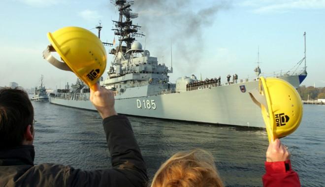 Foto: Germania vinde două distrugătoare Israelului