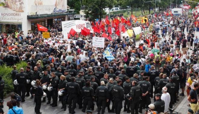 Foto: Proteste de masă anti-TTIP în Germania. 150.000 de oameni au manifestat la Berlin împotriva acordului de liber schimb între UE și SUA
