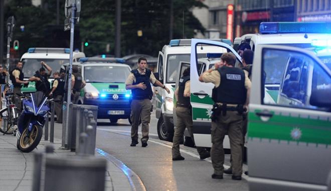Foto: Germania: Poliția a reținut un suspect în atacul cu cuțit din Munchen