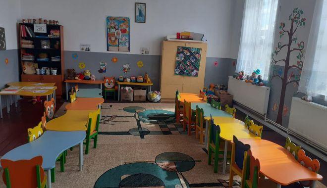 """Foto: Situație remediată la Grădinița Băltăgești. """"Micuții au acum toate condițiile"""""""