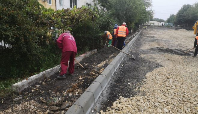 Foto: Primăria Municipiului Constanța continuă reabilitarea tramei stradale. Iată graficul lucrărilor