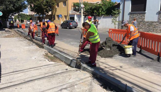 Foto: Zone din Constanța, reablitate. Pe listă: trotuare, străzi, locuri de parcare