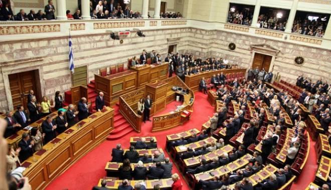 Foto: Parlamentul grec a aprobat acordul tehnic cu creditorii privind un al treilea plan de ajutor