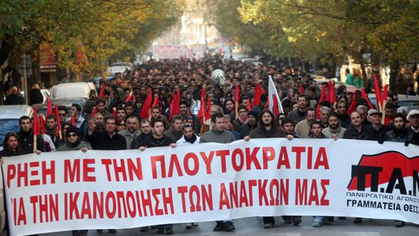 Foto: A patra grevă generală din acest an în Grecia
