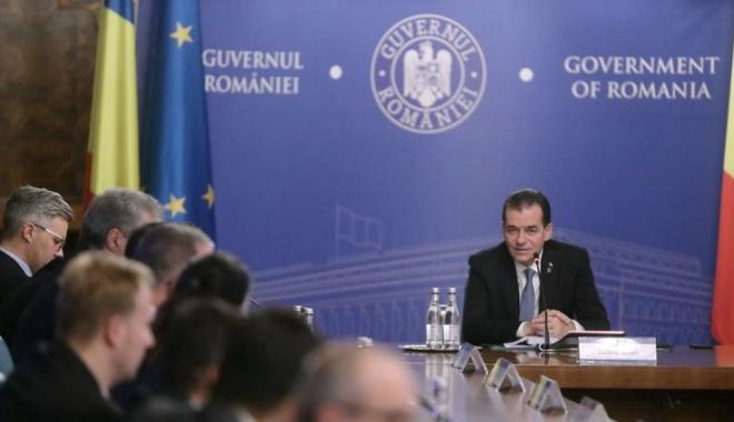 Foto: Astăzi, ședință de guvern. Ce proiecte sunt pe ordinea de zi
