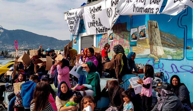 Foto: Guvernul elen pregătește o nouă lege privind dreptul de azil