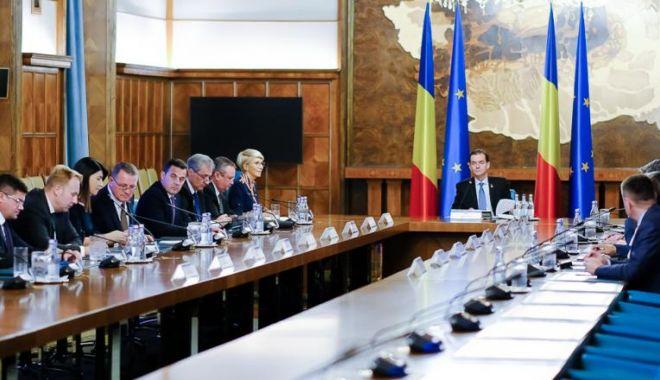 Foto: Încep audierile miniștrilor propuși pentru Guvernul Orban II