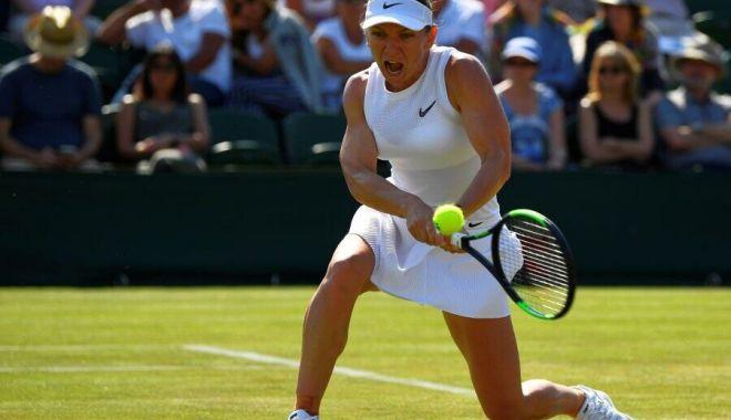 Tenis / Simona Halep se califică în sferturile de finală de la Wimbledon - halep-1562604337.jpg